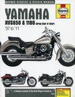 Yamaha XVS650, XVS1100, Drag Star, V-Star Repair Manual 1997-2011