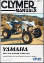 Yamaha YFZ450 & YFZ450R ATV Repair Manual 2004-2013