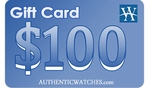 AuthenticWatches.com $100 Gift Card