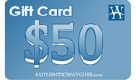 AuthenticWatches.com $50 Gift Card
