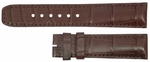 Baume et Mercier 28mm Brown Crocodile Strap MX006T3M