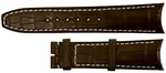 Baume et Mercier Capeland 21mm Brown Alligator Strap MX007S9F