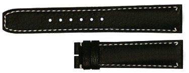 Baume et Mercier Capeland 20mm Black Leather Strap MX006SMW