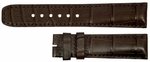 Baume et Mercier Classima Executive 22mm Brown Alligator Strap MX003LRQ
