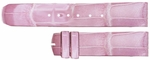 Baume et Mercier Hampton Square 21mm Pink Alligator Strap MX004PVD