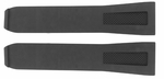 Baume et Mercier Hampton Square 24mm Black Rubber Strap MX004PVV