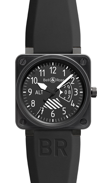 Bell & Ross Aviation BR0196-ALTIMETER