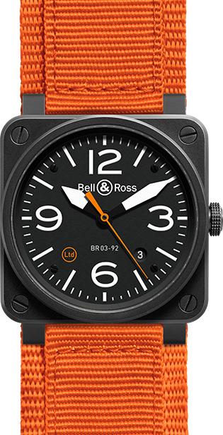 Bell & Ross Aviation BR0392-O-CA