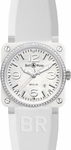 Bell & Ross Aviation BR0392-WH-C-D/SRB