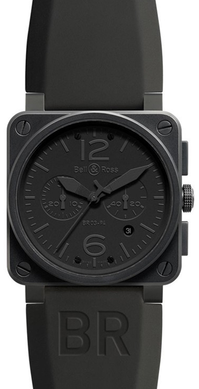 Bell & Ross Aviation BR0394-PHANTOM