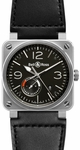 Bell & Ross Aviation BR0397-BL-SI/SCA