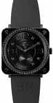 Bell & Ross Aviation BRS-BLC-PH-LGD/SRB