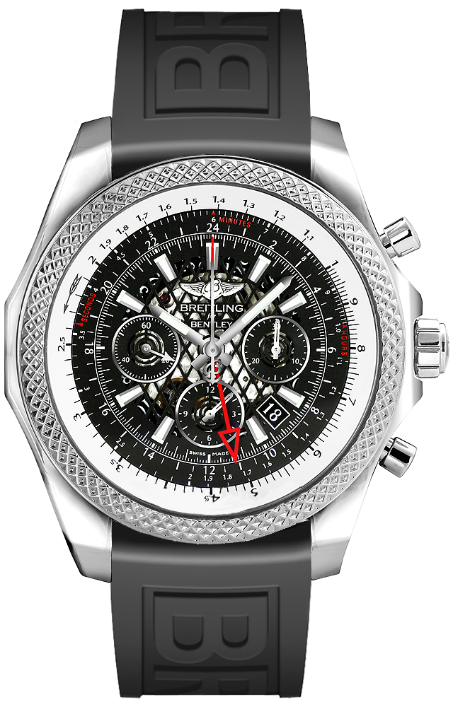 Breitling Bentley Gmt A47362s4 B919 998a