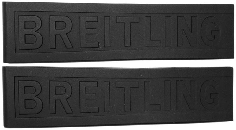 Breitling 20mm Black Rubber Strap 151S
