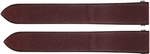 Cartier Roadster Ladies 16mm Maroon Satin Strap KD93X109