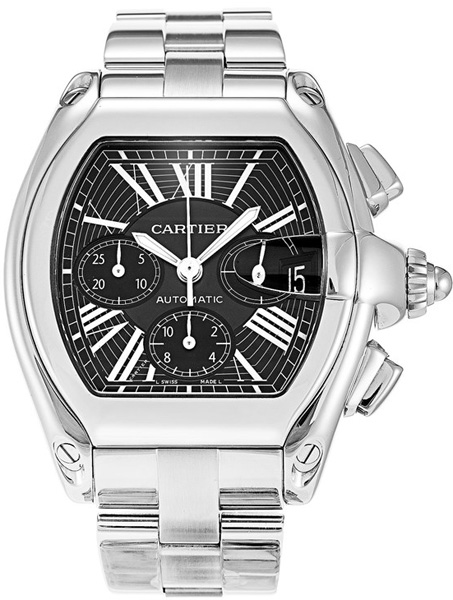 W62020x6 Cartier Roadster Xl Automatic Chronograph