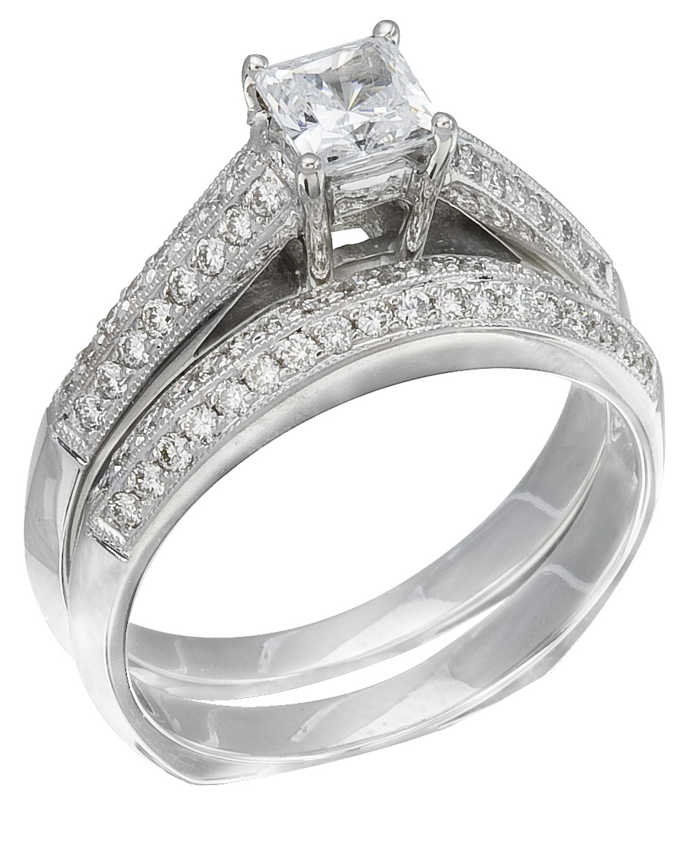 RWG222 Discounted Price White Gold Diamond La s Ring