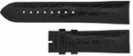 Longines 18mm Black Crocodile Strap LBGCS18