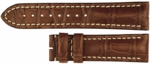 Longines 18mm Brown Alligator Strap LBRGAS18