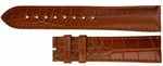 Longines 20mm Brown Alligator Strap LBRAP20