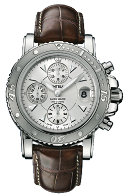 35777 montblanc sport collection silver automatic
