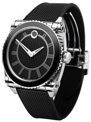 0606295 Movado Master Black Dial Stainless Steel Case