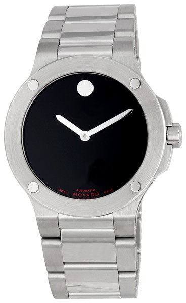 0606290 Movado Mens Se Extreme Black Dial Stainless Steel