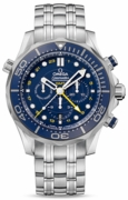 OMEGA SEAMASTER DIVER 300M CO-AXIAL GMT CHRONOGRAPH 44MM