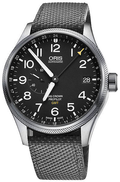 Oris Big Crown PropPilot GMT Small Seconds 74877104164FS-GREY