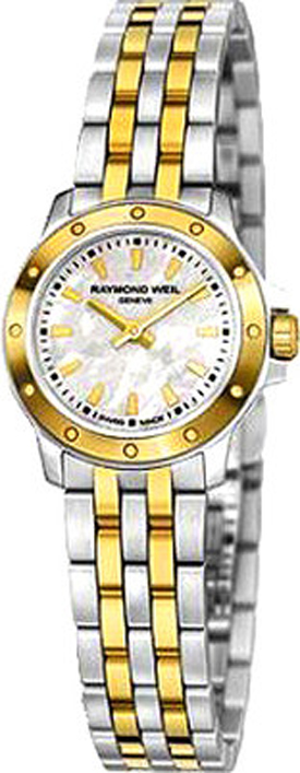 5799 Stp 97001 Raymond Weil Tango White Mother Of Pearl