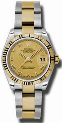 Rolex Lady-Datejust 31 Steel & Gold 178273