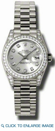 Rolex Datejust Lady Gold President 179159