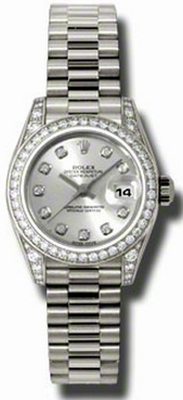 Rolex Lady-Datejust 26 Gold President 179159