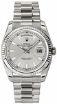 ROLEX DAY-DATE 36 WHITE GOLD PRESIDENT