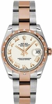 Rolex Lady-Datejust 31 Steel & Gold 178341
