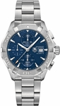 TAG HEUER AQUARACER 300M AUTOMATIC CHRONOGRAPH 43MM