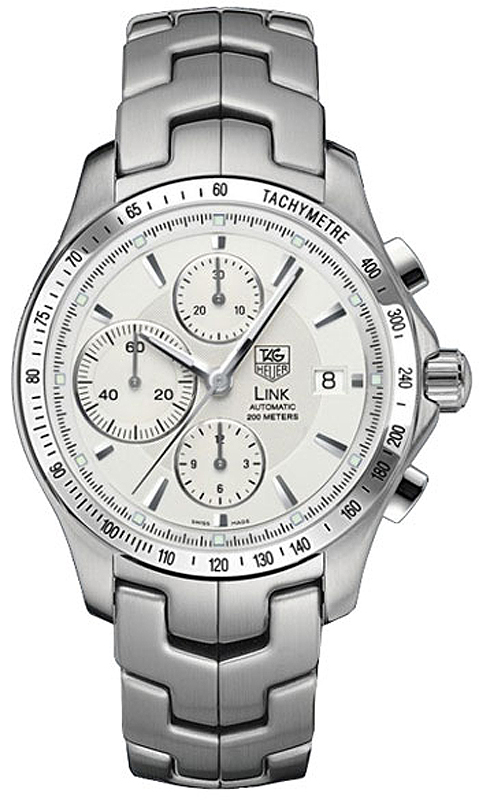 Cjf2111 Ba0594 Tag Heuer Link Automatic Chronograph Mens Watch