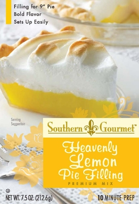 Lemon Pie Filling Premium Mix (6-pk case)