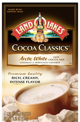 LAND O LAKES® Arctic White Cocoa Classics® 5 Packets 12 Count Case