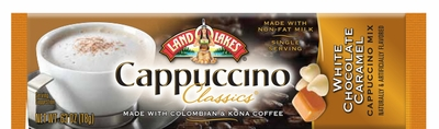 Land O Lakes® White Chocolate Caramel Cappuccino Stick 54 Count Case