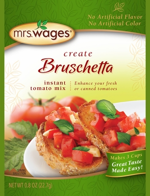 Mrs. Wages Bruschetta Mix Case