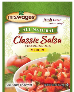 Mrs. Wages� Classic Salsa Tomato Mix Case