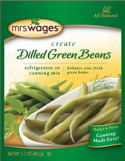 Mrs. Wages® Dilled Green Beans Refrigerator or Canning Mix