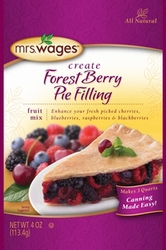 Mrs. Wages� Forest Berry Pie Filling Mix Case