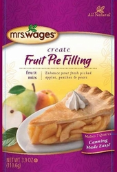 Mrs. Wages� Fruit Pie Filling Mix Case