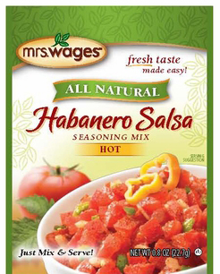 Mrs. Wages® Habanero Salsa Mix