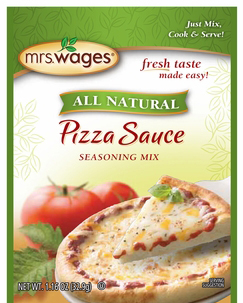 Mrs. Wages® Instant Pizza Sauce Mix Case