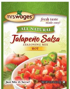 Mrs. Wages® Jalapeno Salsa Mix