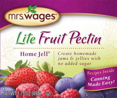 Mrs. Wages� Lite Fruit Pectin Home Jell�