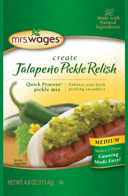 Mrs. Wages® Medium Jalapeño Pickle Relish